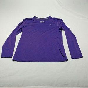 Nike Dri Fit Long Sleeve T-shirt sz M
